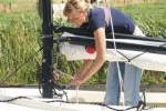 Polyvalk huren met gasveer- Friesland