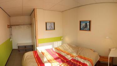 groepsaccommodatie Friesland met tweepersoonskamers.