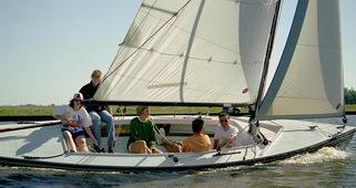 Polyvalk Zeilboot huren Sneek Friesland